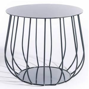 Reso No1 Lounge Table - Charcoal Gray
