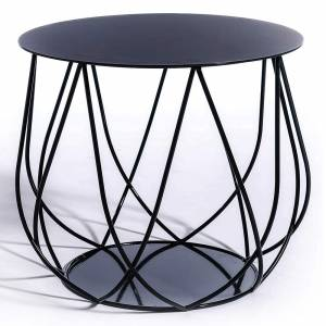 Reso No2 Lounge Table - Black