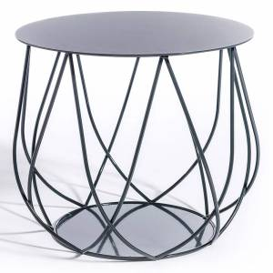 Reso No2 Lounge Table - Charcoal Gray