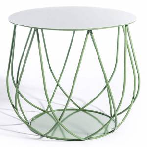 Reso No2 Lounge Table - Light Green