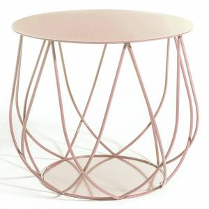 Reso No2 Lounge Table - Pink