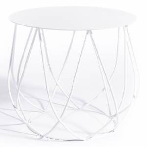 Reso No2 Lounge Table - White