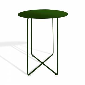 Reso Small Table - Dark Green