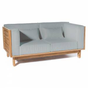Skanor 2-Seater Sofa - Light Gray