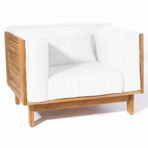 Skanor Lounge Chair - White