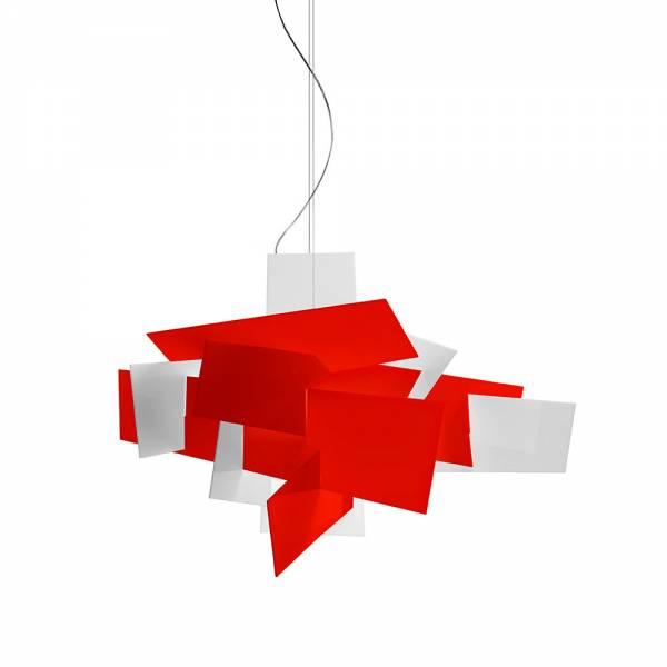 Big Bang Pendant - Red | Rouse Home