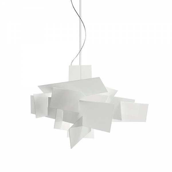 Big Bang Extra Large Pendant - White | Rouse Home