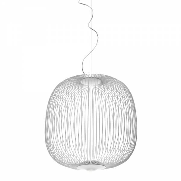 Spokes 2 Pendant - White | Rouse Home