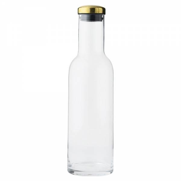 Bottle Carafe - Clear, Gold