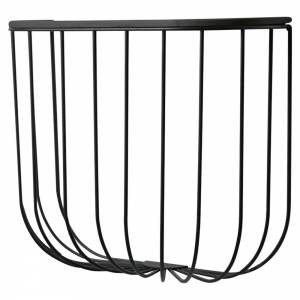 Cage Shelf - Dark Ash, Black