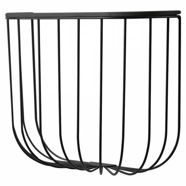 Cage Shelf - Dark Ash, Black