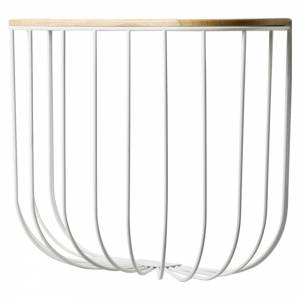 Cage Shelf - Light Ash, White