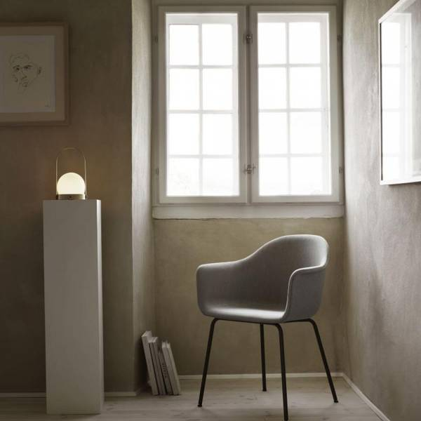 Carrie LED Lamp - Brushed Brass