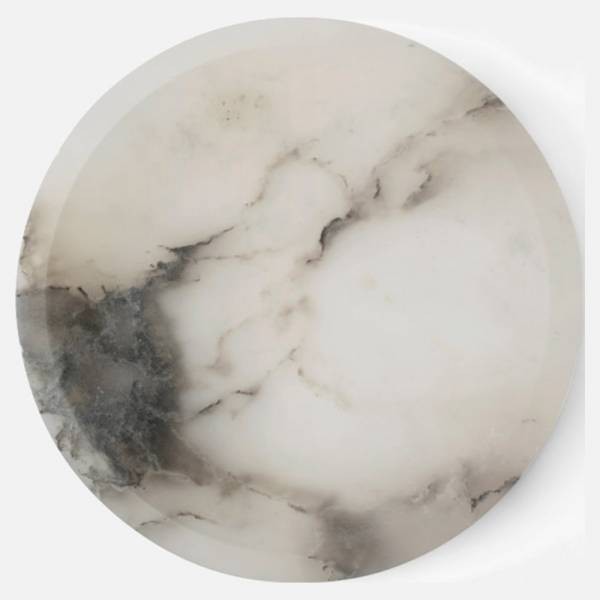 Circular Bowl - Cloud Stone