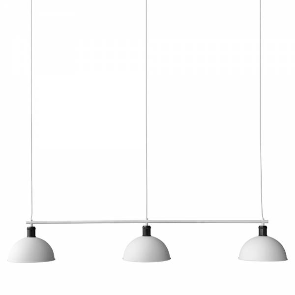 Tribeca Hubert Suspension Lamp - Ivory