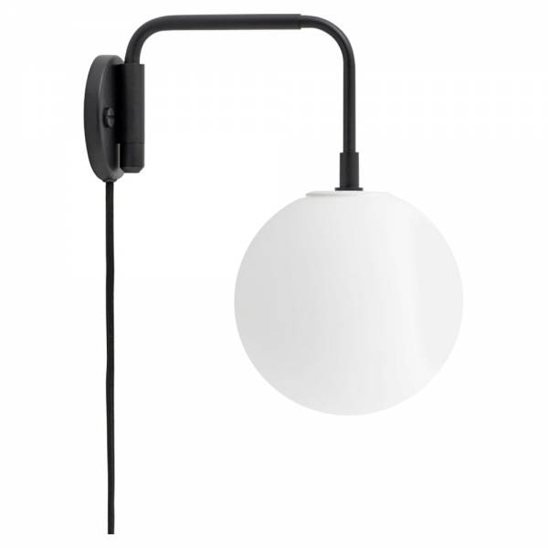 Tribeca Staple Wall Lamp - Black, Matte Bulb