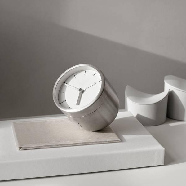 Tumbler Alarm Clock - Gray