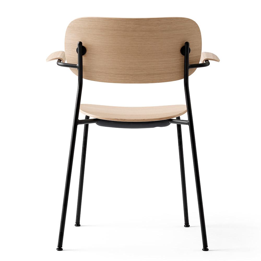 Fine Co Dining Chair Wood Seat Arm Rest Natural Oak Black Base Download Free Architecture Designs Philgrimeyleaguecom