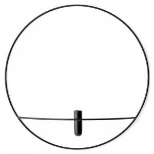 POV Circle Vase - Black