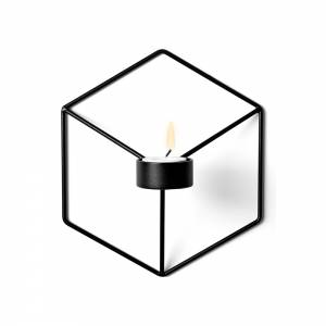 POV Wall Candle Holder - Black