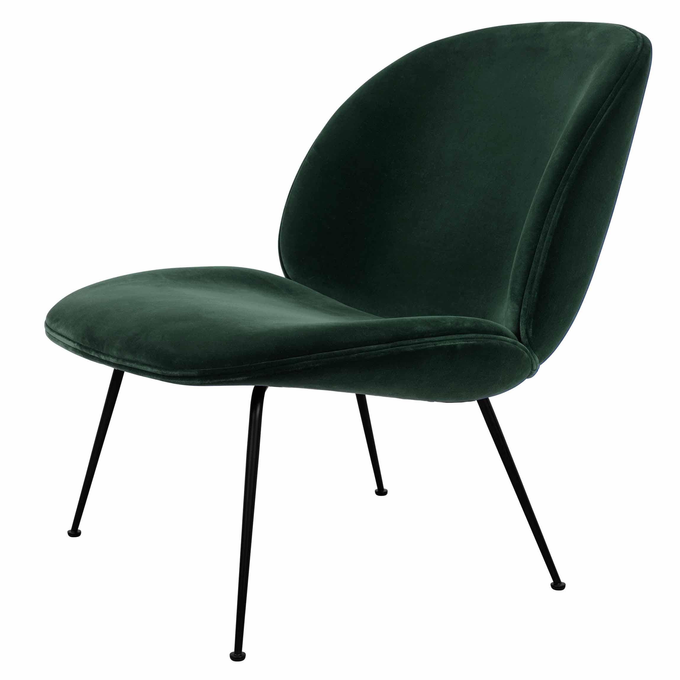Terrific Beetle Fully Upholstered Lounge Chair Moss Velvet Black Base Gamerscity Chair Design For Home Gamerscityorg