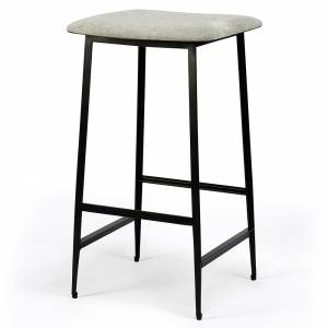 DC Counter Stool - Light Gray without backrest