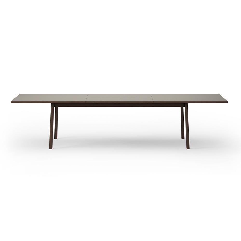 Excellent Ana Extendable Dining Table Almond Laminate Top Oak Short Links Chair Design For Home Short Linksinfo