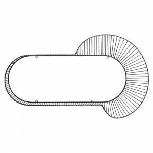 Corolla Shelf - Black