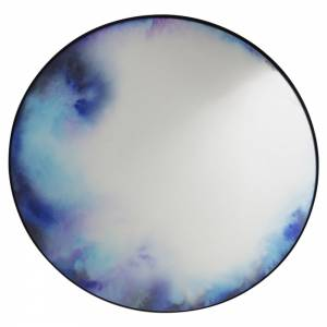 Francis Extra Large Round Wall Mirror - Blue, Purple