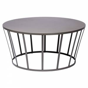 Hollo Round Coffee Table - Anthracite