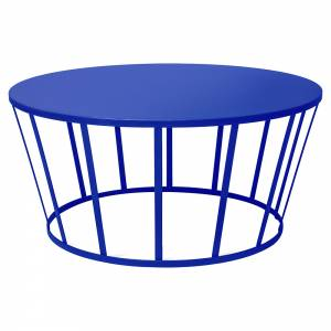 Hollo Round Coffee Table - Blue