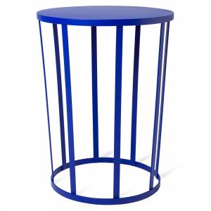 Hollo Round Side Table - Blue