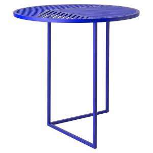 ISO-A Round Side Table - Blue