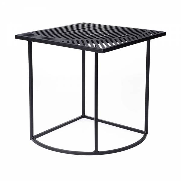 ISO-B Square Side Table - Black