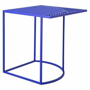 ISO-B Square Side Table - Blue