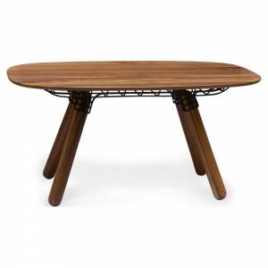 Magnum Dining Table - Walnut