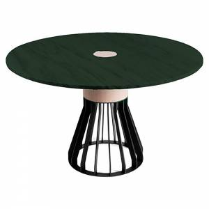 Mewoma Dining Table - Green Marble Top