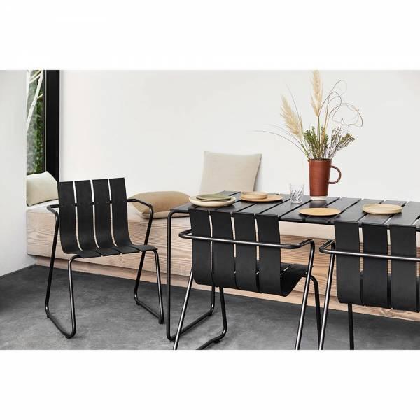 Ocean Outdoor Rectangular Table - Black