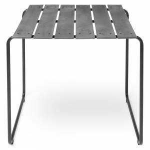Ocean Outdoor Square Table - Concrete Gray