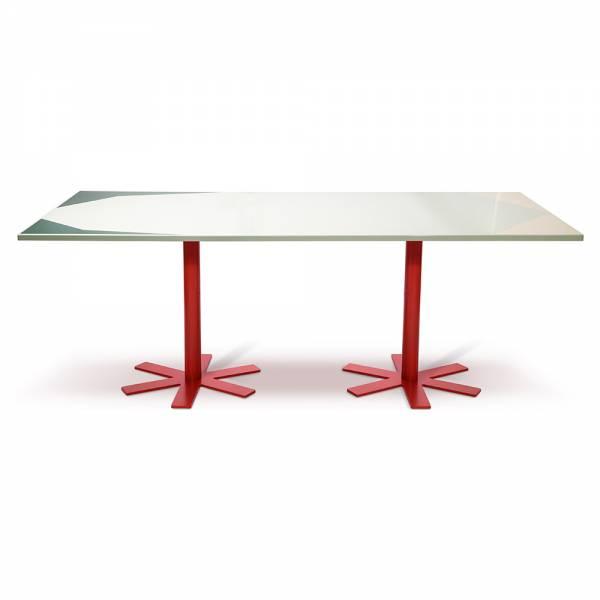 Parot Rectangular Table - Green Pattern