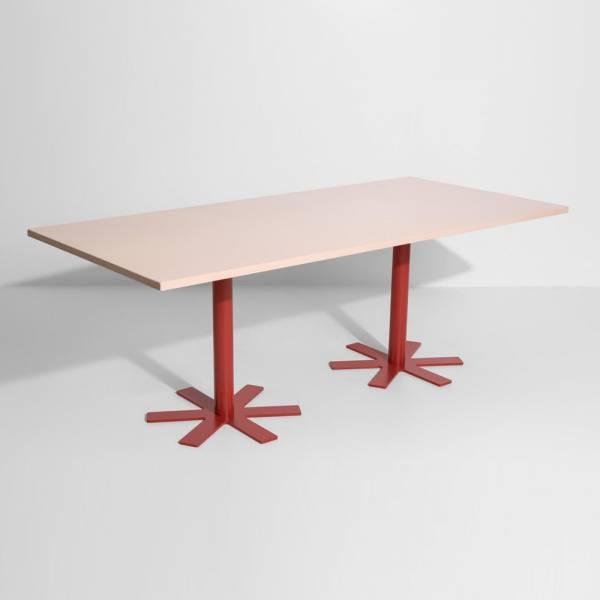 Parot Rectangular Table - Light Pink