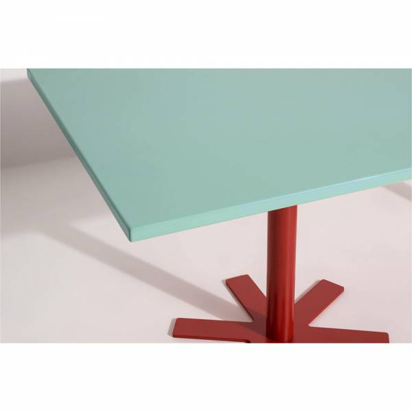 Parot Rectangular Table - Light Turquoise