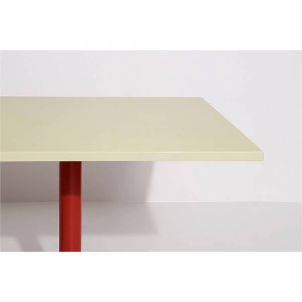 Parot Rectangular Table - Light Yellow