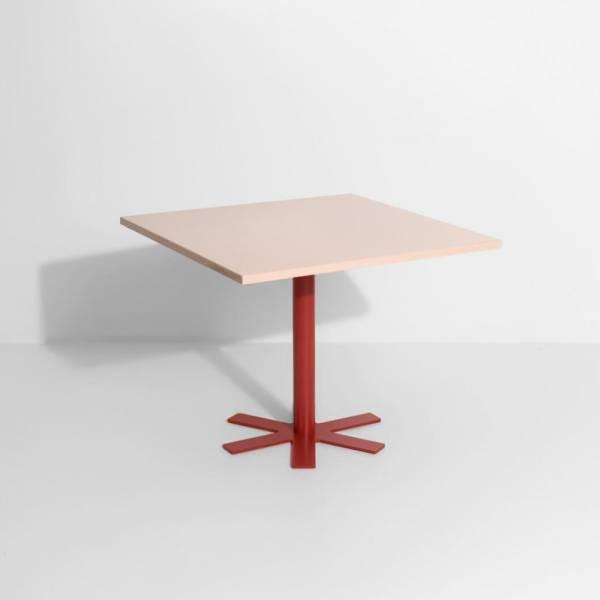 Parot Square Table - Light Pink