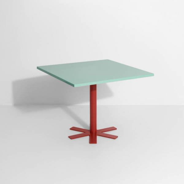 Parot Square Table - Light Turquoise