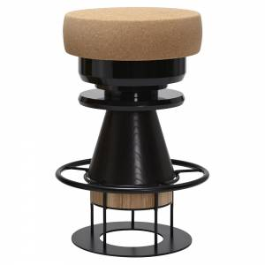 Tembo Counter Stool - Black