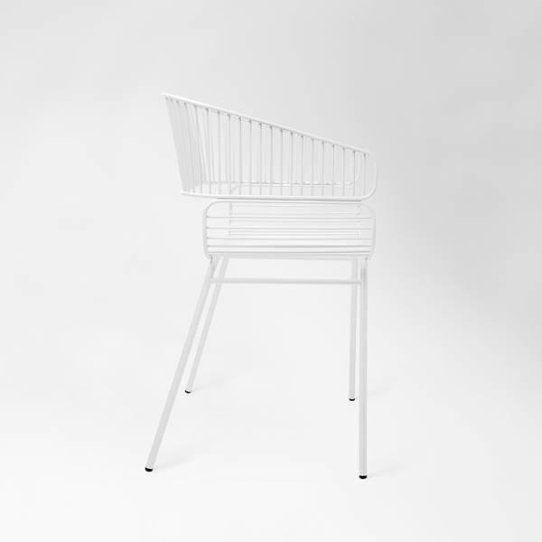Trame Chair - White