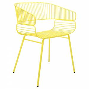 Trame Chair - Yellow
