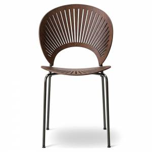 Trinidad Dining Chair - Lacquered Walnut