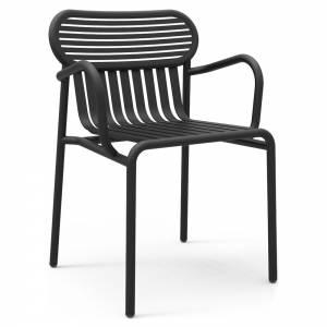 Week-End Bridge Armchair Set Of 2 - Black